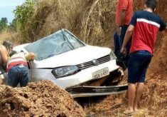 Professor e comerciante morrem em acidente na TO-126, próximo a Itaguatins