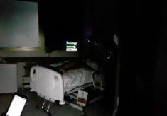 Hospital admite que falha interna provocou falta de energia em UTI
