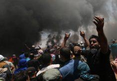Confrontos na fronteira entre Gaza e Israel deixam dezenas de mortos; EUA inauguram embaixada em Jerusalém
