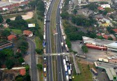 Caminhoneiros autônomos se reúnem com integrantes do governo no Planalto
