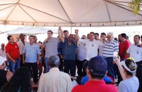 Vicentinho recebe apoio de mais lideranças do interior do Estado