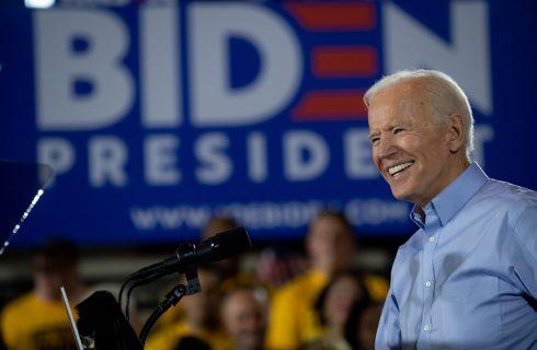 Joe Biden faz primeiro ato de campanha em reduto operário os EUA