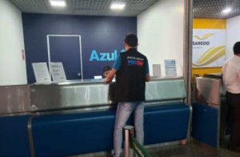 Falta de informações sobre cancelamento de vôo leva Procon Tocantins a autuar empresa Azul
