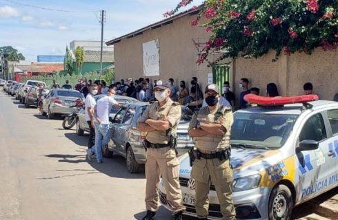 Primeira etapa do concurso da Polícia Militar finaliza sem intercorrências
