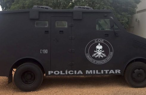 Marcelo Miranda entrega equipamentos à Polícia Militar