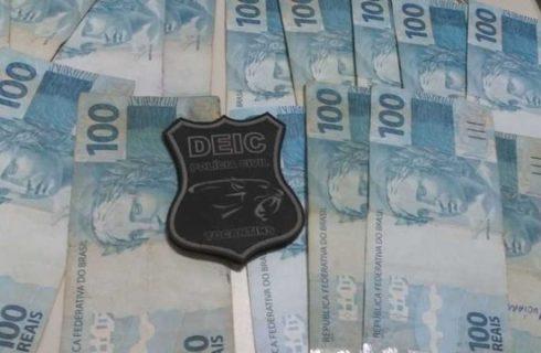 Polícia encontra R$ 13 mil e sete quilos de drogas com casal investigado por tráfico