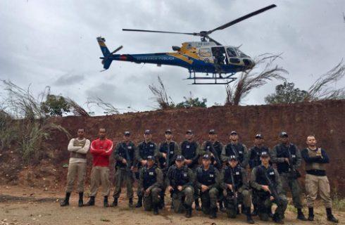 Curso de Operador Aerotático da Secretaria da Segurança completa 40 dias
