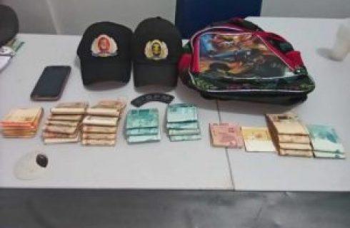 Suspeito de roubar R$ 33 mil reais na região sul de Palmas é preso e dinheiro é recuperado