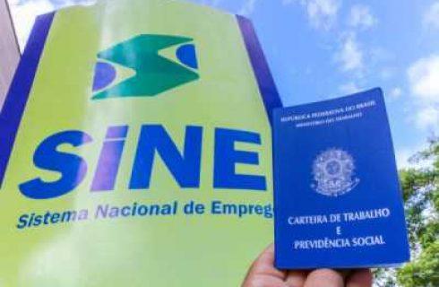 Sine Tocantins intermedeia 445 vagas nesta terça-feira, 17
