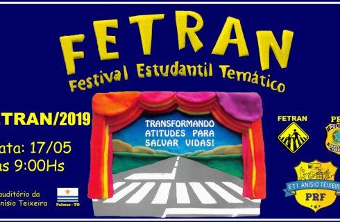 Festival Estudantil Temático de Trânsito 2019 é lançado em Palmas