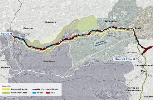 Doria anuncia acordo com governo federal e diz que obras do ferroanel de SP começam este ano