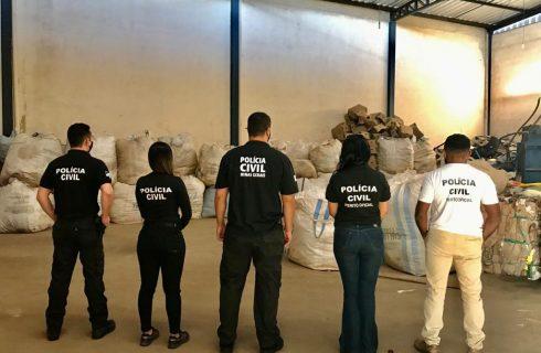 Empresas de fachada são alvo de operação no Tocantins, Minas Gerais e São Paulo