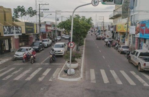 Diretoria de Trânsito e Segurança de Gurupi delimita 4.500 vagas de estacionamento na Avenida Goiás