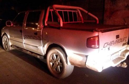4º BPM com apoio de militares de Paranãprendem acusado de furto em Palmeirópolis e recuperam duas camionetes
