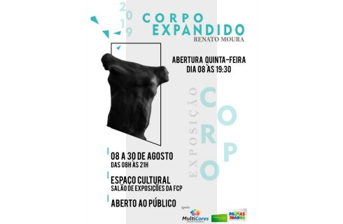 Salão da Fundação Cultural de Palmas recebe a Exposição Corpo Expandido de Renato Moura