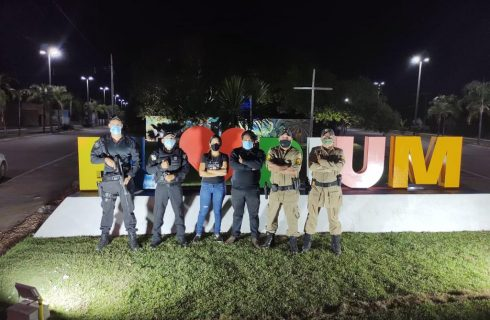 Forças de Segurança do Tocantins deflagram operação conjunta nas cidades de Pium, Cristalândia e Lagoa da Confusão