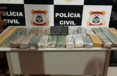 Polícia Civil apreende grande quantidade de drogas no sul do Estado