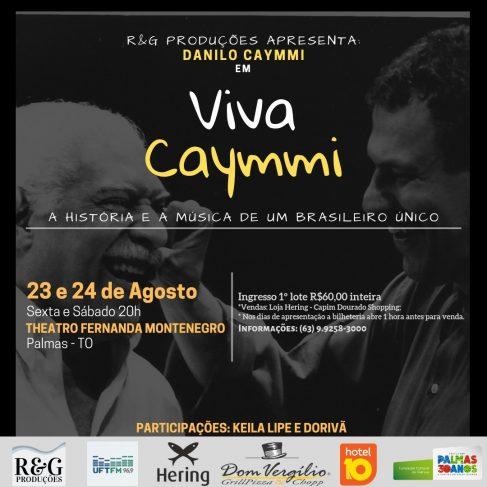 "Danilo Caymmi apresenta ""Viva Caymmi"" no Theatro Fernanda Montenegro"