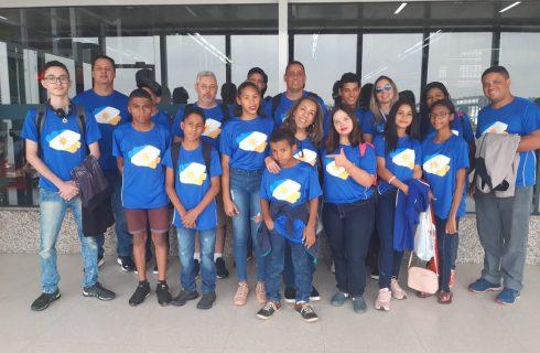 Delegação do Tocantins chega a São Paulo para participar das Paralimpíadas Escolares 2019