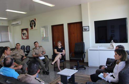 Polícia Militar e procuradores do Ministério do Trabalho tratam de destinação de recursos para projeto de tecnologia embarcada