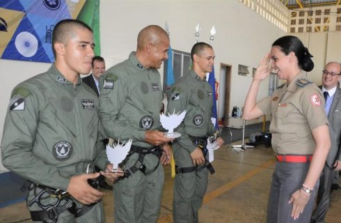 Bombeiro Militar é destaque no 1º Curso de Operações Aerotáticas do Tocantins