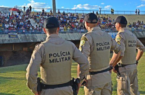 Polícia Militar dá show de bola no 4º Futebol Solidário, sem registros de ocorrências