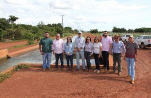 Projeto São João recebe visita da equipe da Companhia de Desenvolvimento do Vale do São Francisco