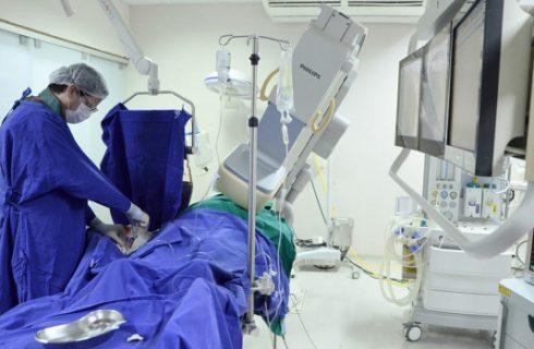 Hemodinâmica do HGP chega à marca de 15 mil procedimentos