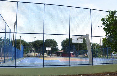 Fundesportes finaliza reforma de quatro quadras poliesportivas da Capital