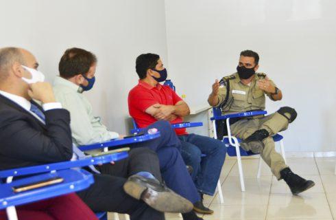 Forças de segurança discutem ações em apoio a ato de conscientização realizado por ciclistas da Capital