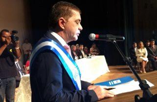 """Em último discurso, Amastha diz que sua gestão foi a mais """"vigiada"""" e """"criticada"""" da história do TO"""