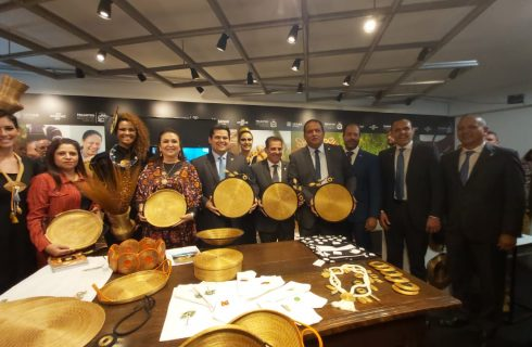 """Exposição """"Tesouros do Tocantins"""" é destaque no Senado Federal"""