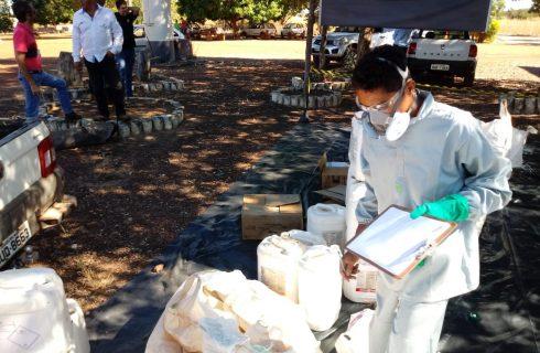 Projeto de Recebimento Itinerante de embalagens vazias de defensivos agrícolas visita Municípios Tocantinenses