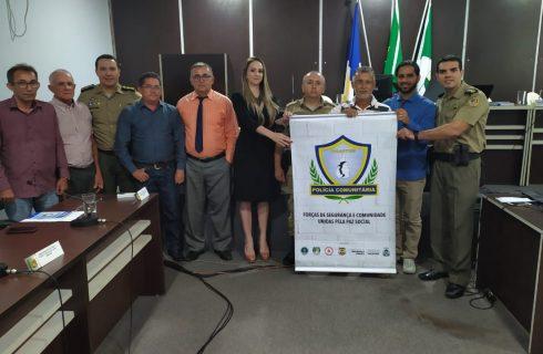 Comissão Eleitoral do Conselho Comunitário de Segurança (CONSEG) é implantada em Itacajá