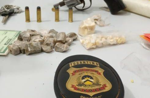 Polícia Civil do Tocantins prende em flagrante dois homens por tráfico de drogas em Gurupi
