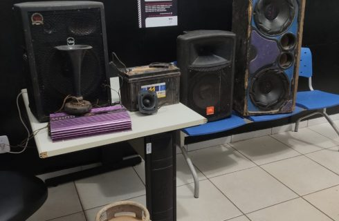 Polícia Civil do Tocantins apreende produtos que tinha sido furtado de uma igreja no Aureny III no mês de março