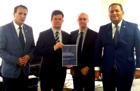 Secretário Cristiano Sampaio busca recursos da ordem de R$ 115 milhões para ações da Segurança Pública, em Brasília