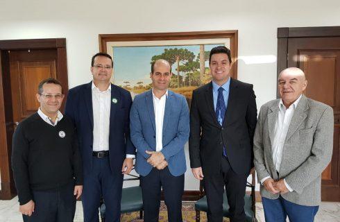 Presidente da FARCOM/TO participa de reuniões no Paraná