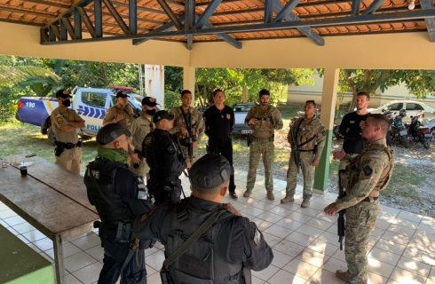 Forças de Segurança realizam mais uma etapa da operação Hórus e prendem homem suspeito de praticar homicídio no interior do Estado