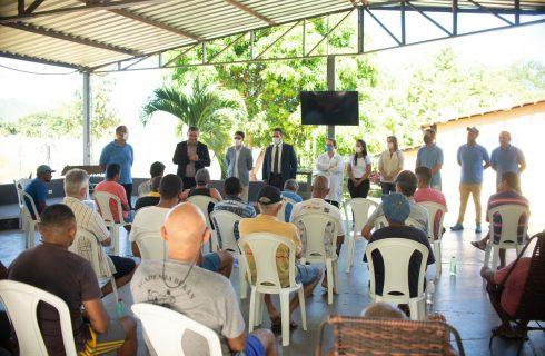 Clínica de Tratamento Luz recebe visita do Secretário Nacional de Cuidados e Prevenção às Drogas do Ministério da Cidadania