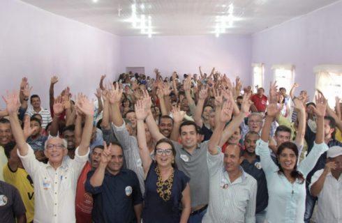Kátia Abreu reúne centenas de pessoas em Conceição, Natividade e Dianópolis
