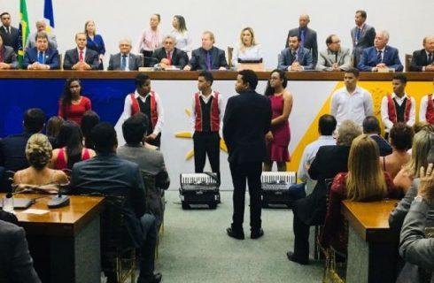 Como presidente, Luana afirma que enxugará orçamento da AL; Solange e Bucar assumem
