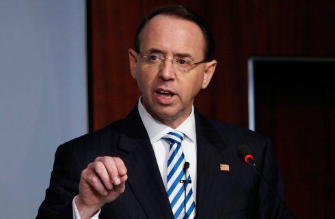 Vice-procurador geral dos EUA, Rod Rosenstein pede demissão