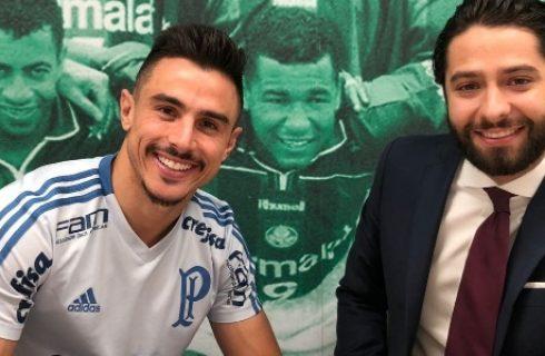 Após assédio do exterior, Willian renova contrato com o Palmeiras até 2021 1