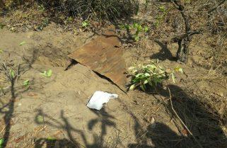 Polícia flagra três pessoas desenterrando explosivos em matagal de Palmas
