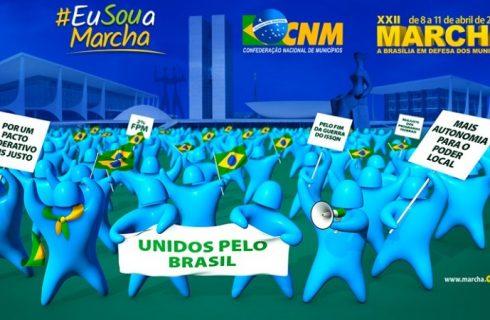 Cerca de 90 prefeitos do Tocantins devem participar de Marcha a Brasília