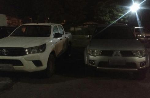 3 paraenses são presos em Araguaína com duas caminhonetes furtadas em Belo Horizonte