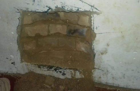 Polícia encontra escavação e frustra tentativa de fuga na cadeia de Cristalândia