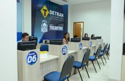 Detran diz que serviços são restabelecidos em Palmas, mas problemas podem ocorrer
