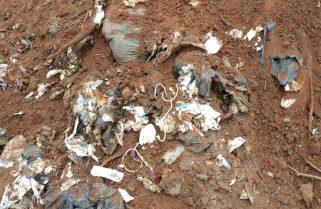 Chuva aumenta risco de lençol freático ser contaminado por lixo enterrado em fazenda, aponta parecer